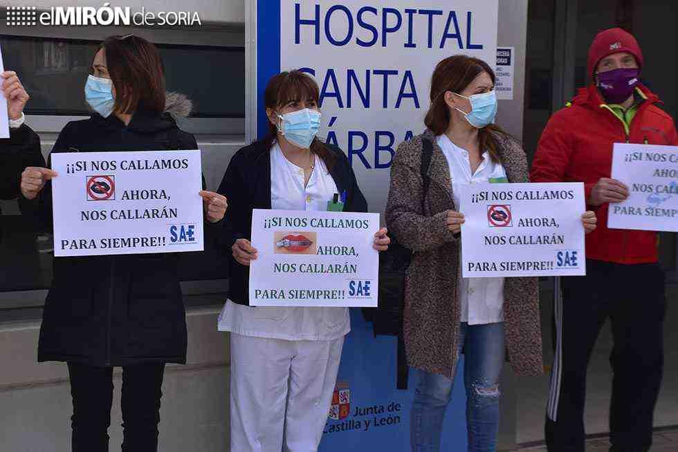 Movilizaciones sindicales contra acuerdo con enfermería