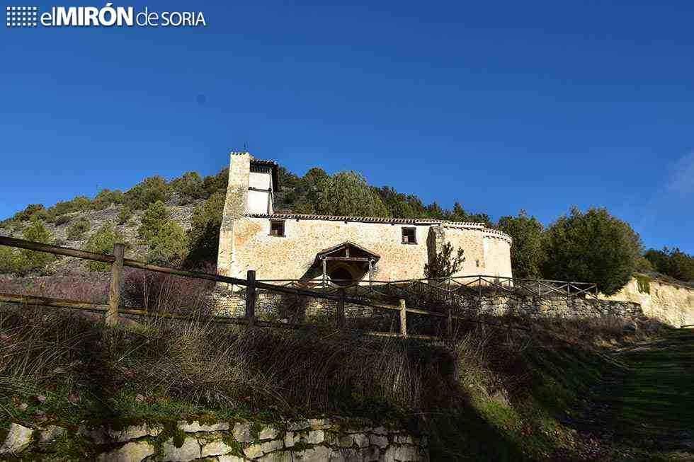 Documentación de necrópolis de castillo de Muriel