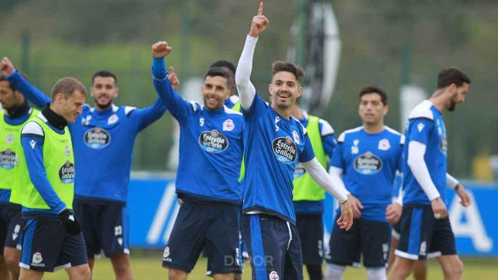 Depor, Ferrol y Compostela, rivales del Numancia