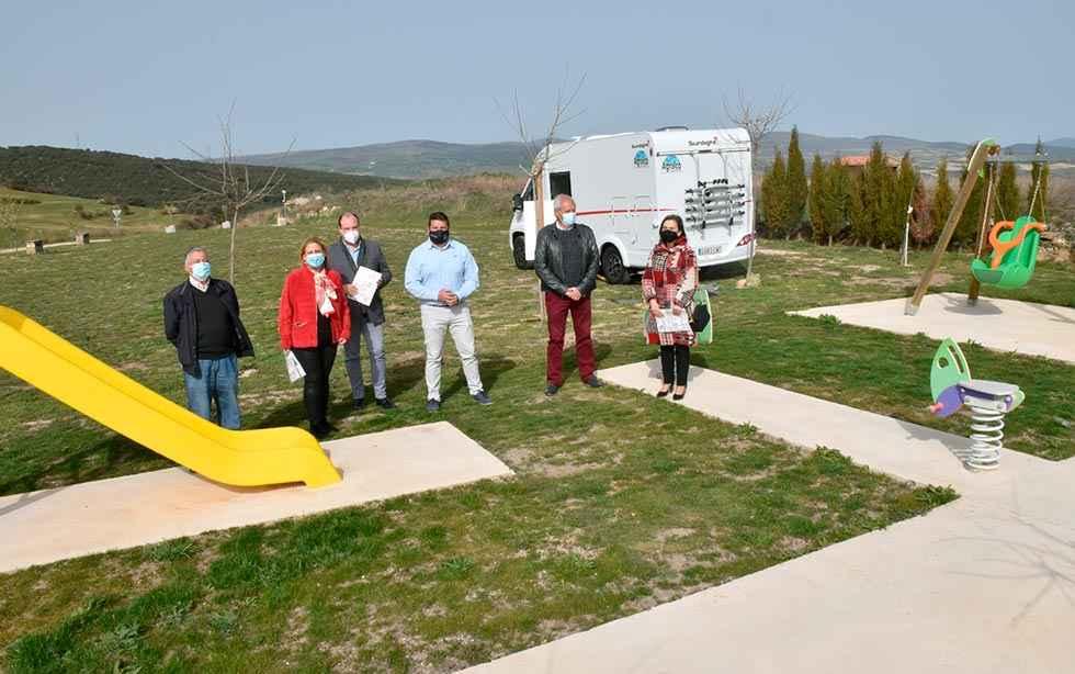 Valdelagua del Cerro inaugura un área de autocaravanas