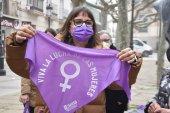Símbolo feminista para el Día de la Mujer