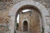 La villa fortificada de Rello, desde el cielo