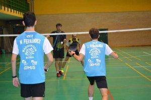 Doble competición nacional para el Club Bádminton Soria
