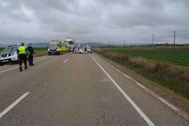 Fallece una joven de Fuentestrún en accidente