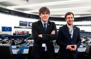 Europa retira inmunidad a Puigdemont