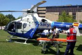 La Junta invierte 38 millones en el transporte sanitario aéreo