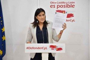 """El PSOE, a Arrimadas: """"la corrupción de Mañueco o la decencia de Tudanca"""""""