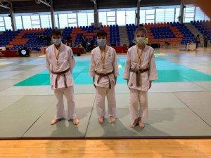 Tres medallas para el Judo Club San José