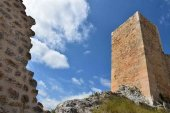 El castillo de Osma, desde el cielo