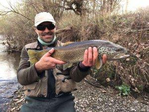 Nueva temporada de pesca en las aguas trucheras