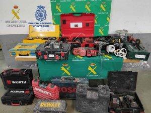Detenidos por robar en coches en Almazán y Soria