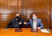 Diputación rubrica nuevo convenio con ANDE Soria