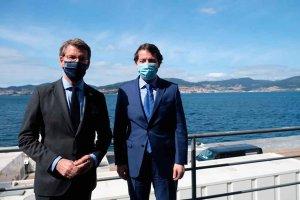 Mañueco urge definición de plan del Corredor Atlántico