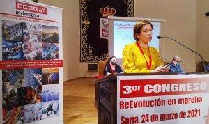 Nuevo mandato para Amor Pérez en Industria CC.OO.