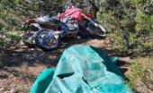 Detenidos dos hombres por robar motocicletas