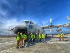 Diputación da bienvenida a Ejército del Aire