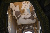 Denuncian el deterioro de los frescos de San Saturio