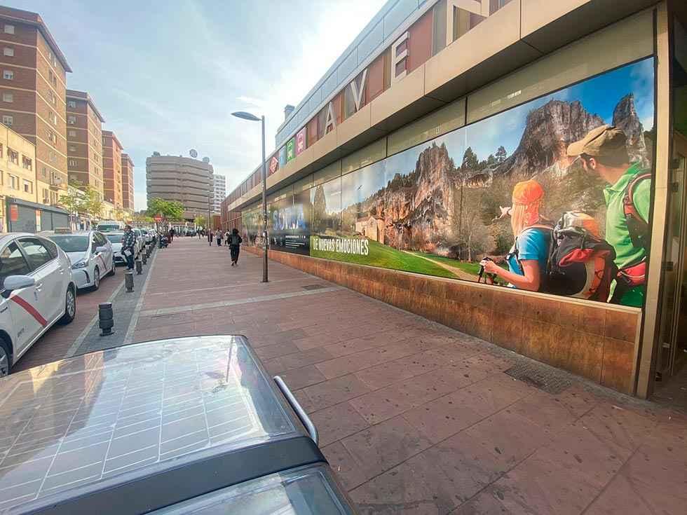 Soria se publicita en Madrid y Barcelona