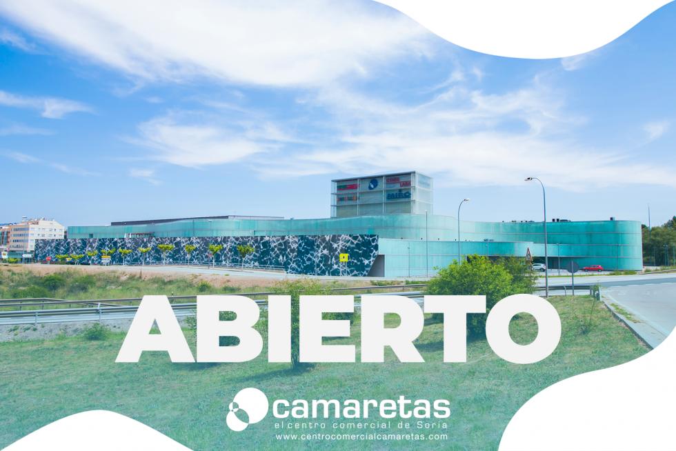 El centro comercial Camaretas sigue abierto