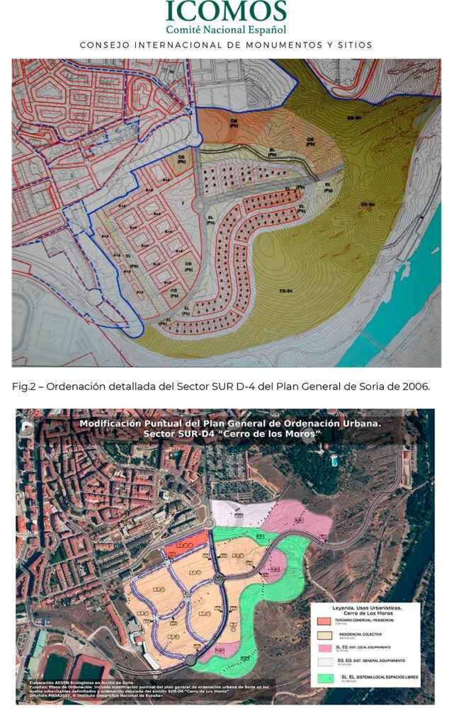 Informe de ICOMOS sobre el Cerro de los Moros