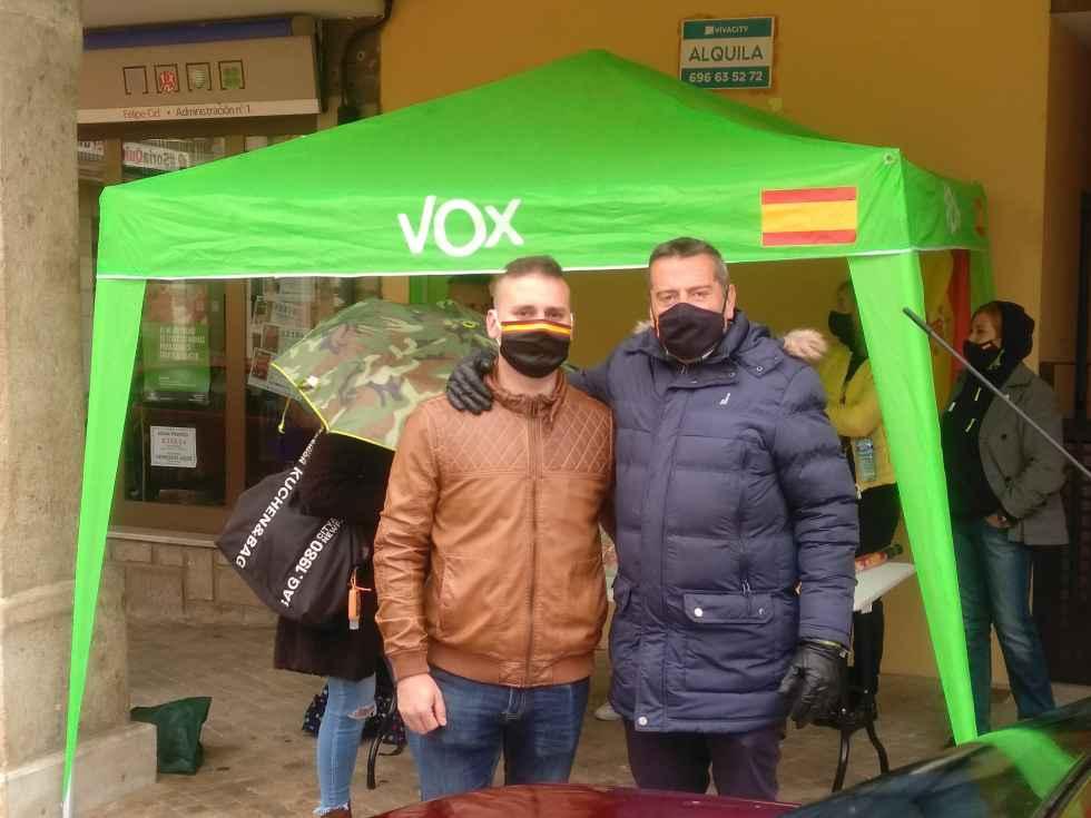 Vox presenta a su coordinador local en Almazán