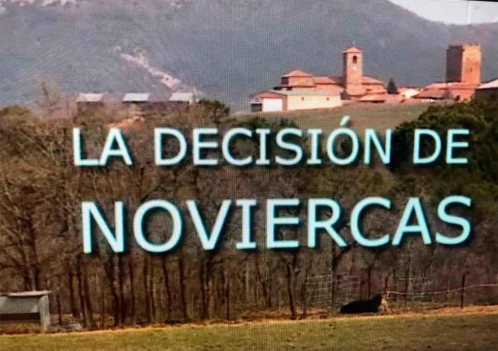 """Informe Semanal emite """"la decisión de Noviercas"""""""