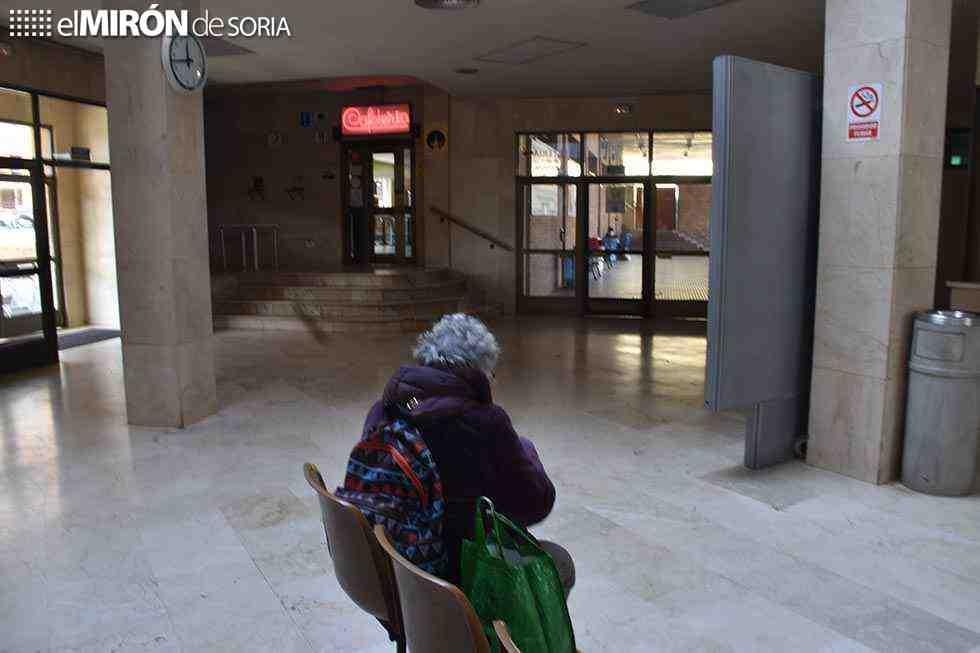 La estación de autobuses: puro abandono