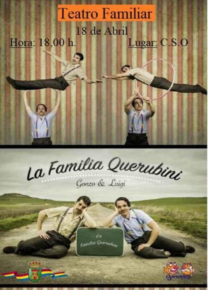 Teatro familiar en Ólvega con la compañia Garrapete