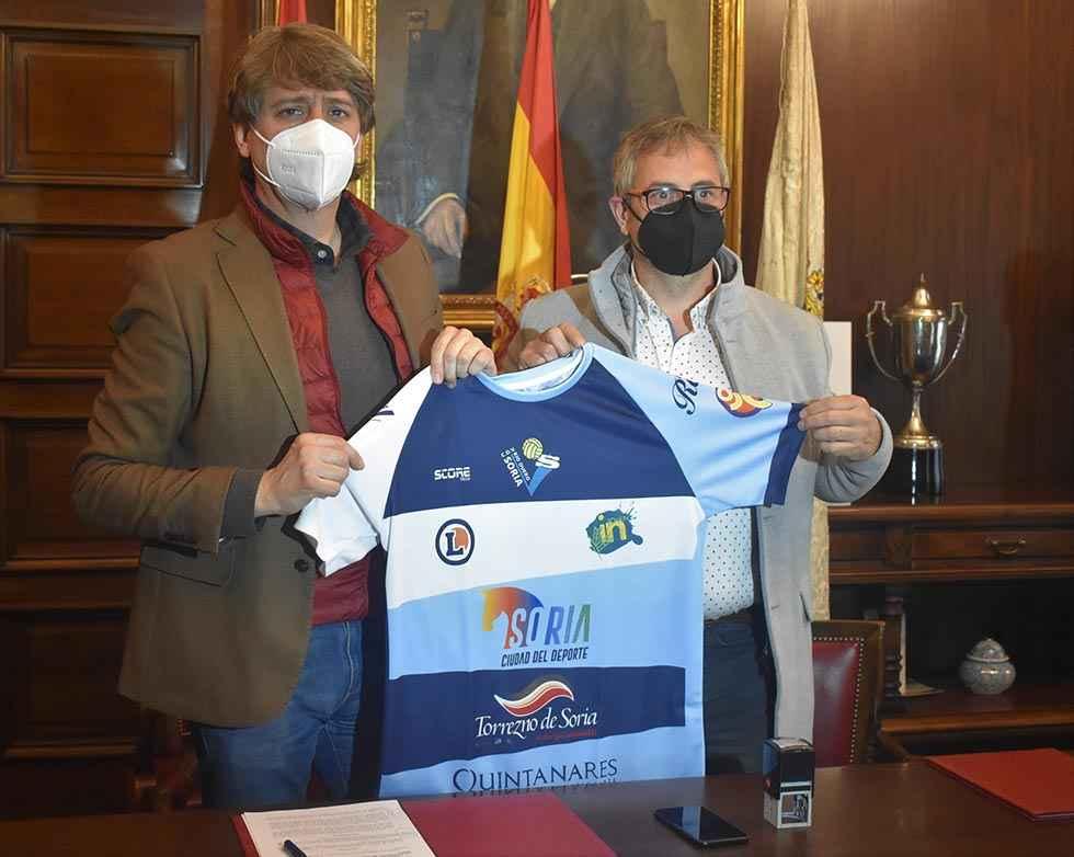El Ayuntamiento rubrica apoyo a Río Duero