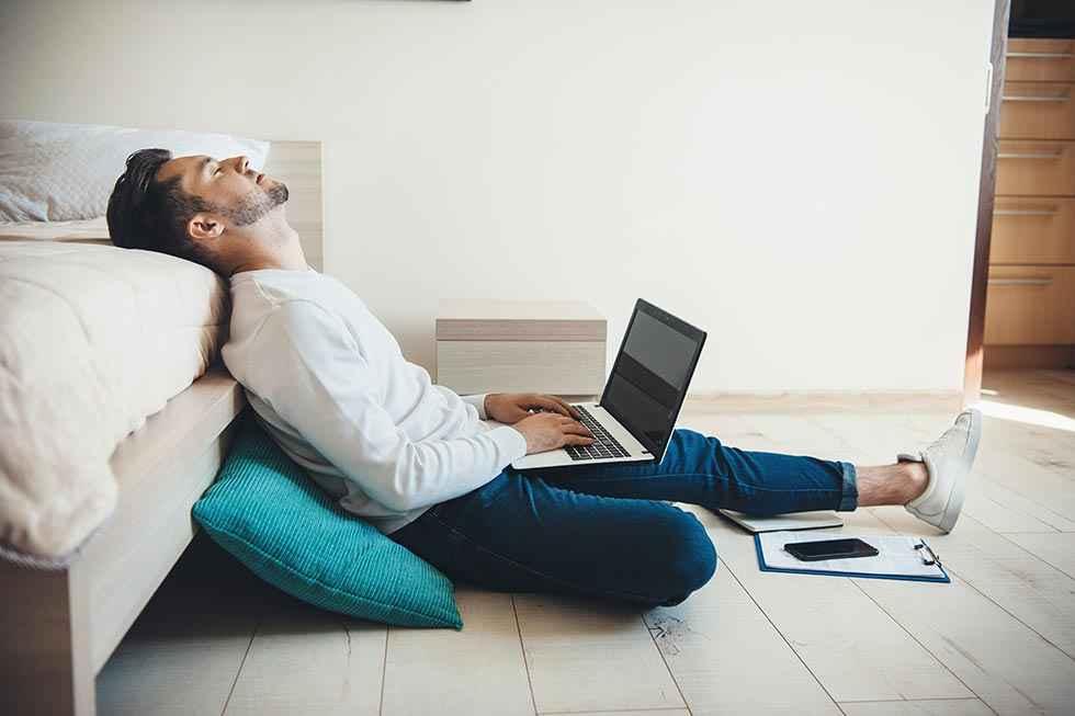 El teletrabajo está causando estrés, ansiedad y depresión