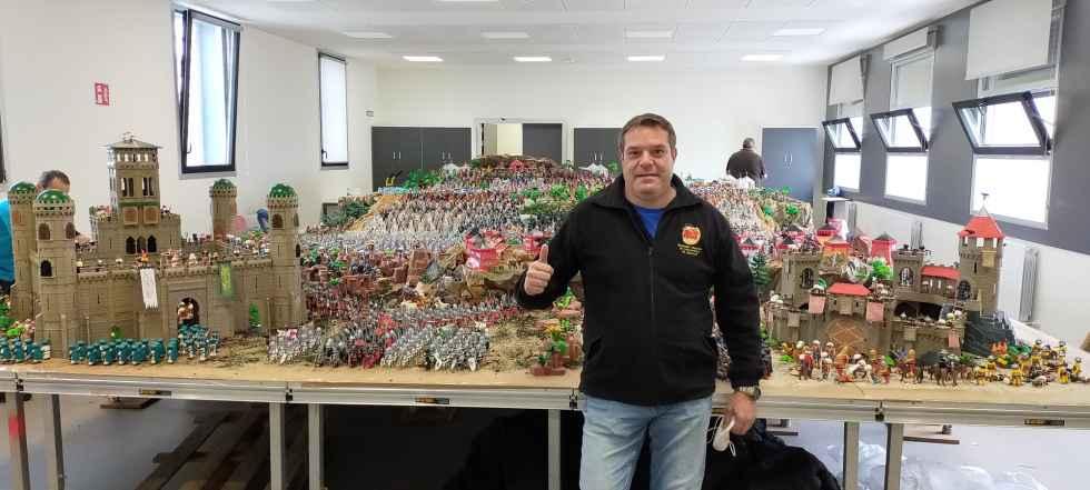 Participación soriana en diorama más grande en Navarra