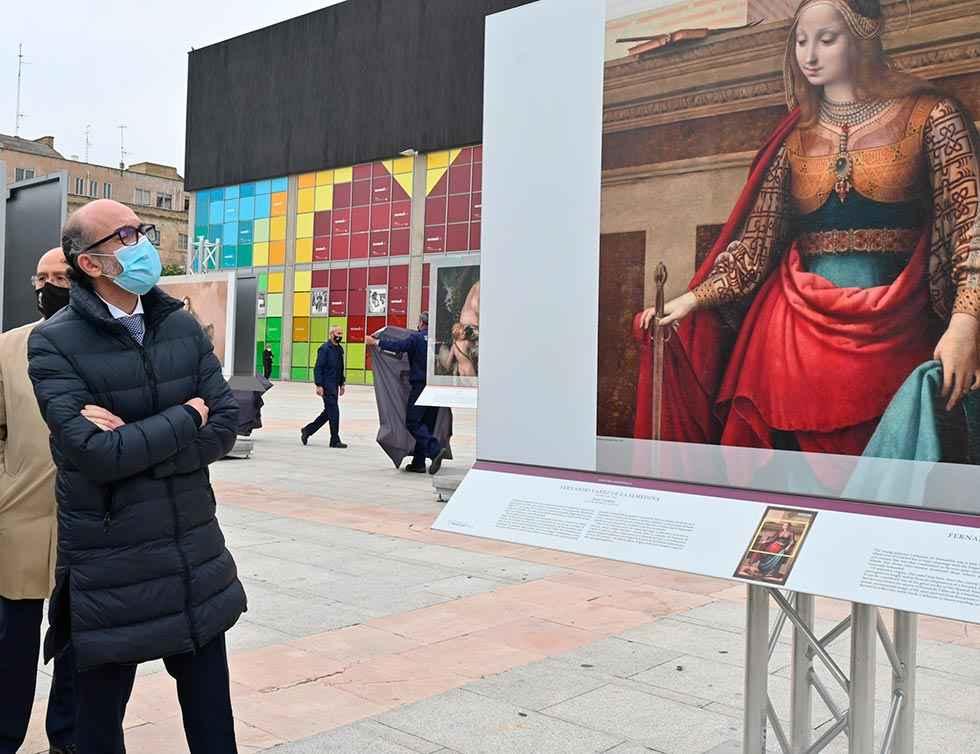 """""""El Museo del Prado en las Calles"""" inicia su recorrido"""