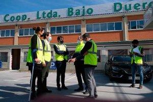Mañueco ratifica compromiso con cooperativismo agroalimentario