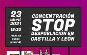 Concentración en Madrid contra despoblación