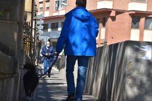 El embudo peatonal del Espolón - fotos