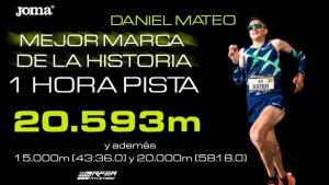 Dani Mateo bate el récord de la hora