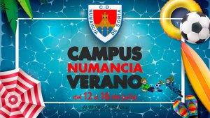 El Numancia convoca su campus de verano