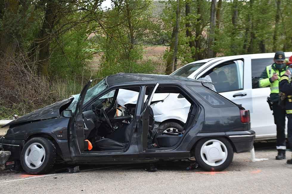 Accidente de tráfico mortal en Almazán