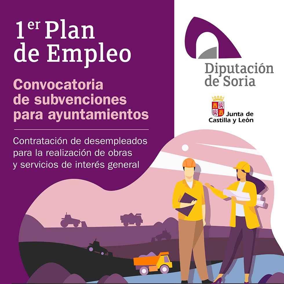 Diputación convoca el Plan de Empleo
