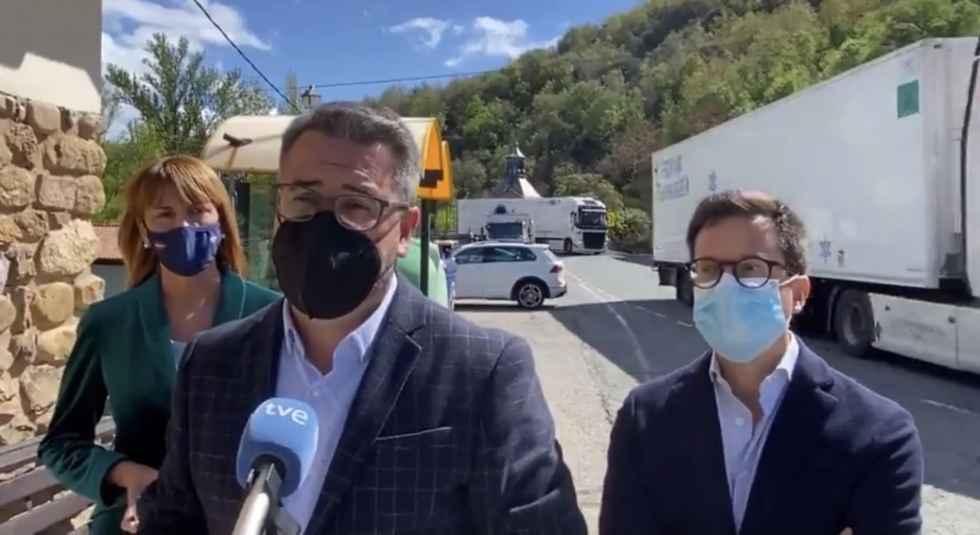 El PP exige mejorar la conservación de N-111