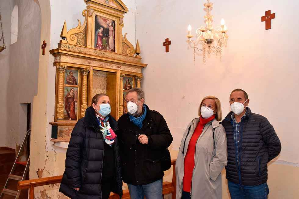 Restauración de dos retablos en Ontalvilla de Valcorba