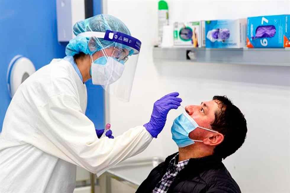 Más de 42 millones de pruebas diagnósticas