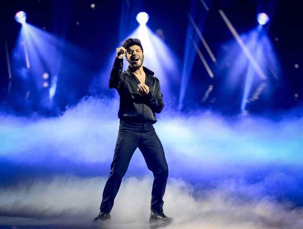 Blas Cantó, vigésimo cuarto en Eurovisión