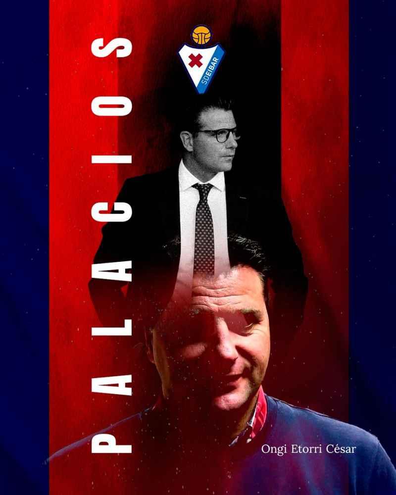 Palacios, nuevo director deportivo del Eibar