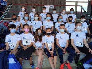 La selección sub-14 de atletismo compite en Zamora