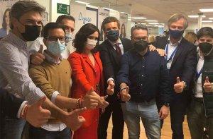 El PP resalta victoria de Ayuso en Madrid