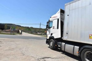 Más seguridad vial en la N-234 - fotos