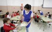 Iniciada vacunación en trabajadores de comedores escolares