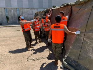 Adiestramiento del Ejército en San Leonardo