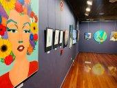 Trabajos de artes plásticas en Creación Joven